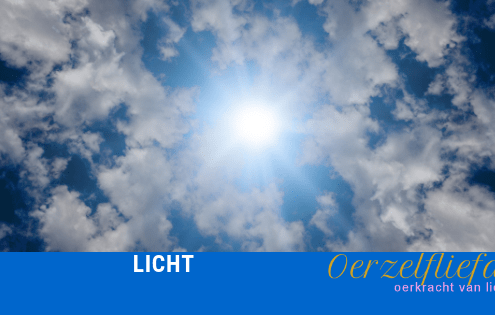 licht straal als de zon