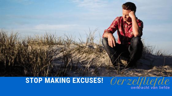 stop met excuses voor rust in het hoofd