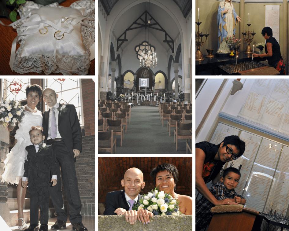 huwelijk verlies afscheid dood