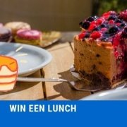 win een lunch