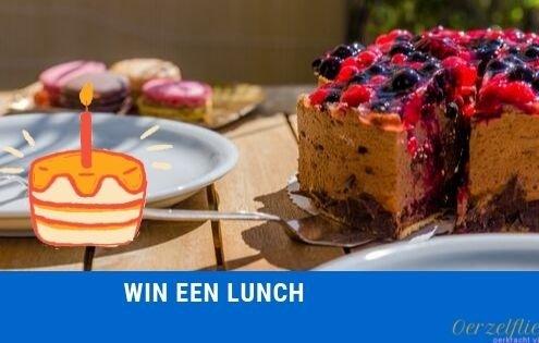 win een lunch