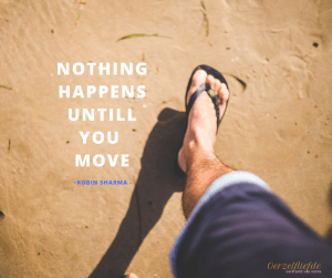 nothing happens untill you move